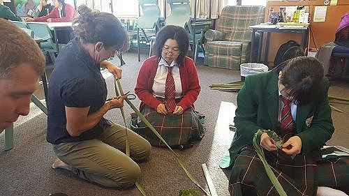 Matariki is the celebration of the Maori New Year. During this time our students were taught the Maori art of flax weaving.