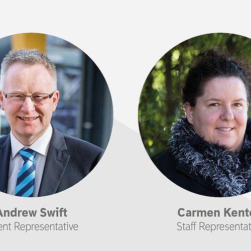 New Board Representatives