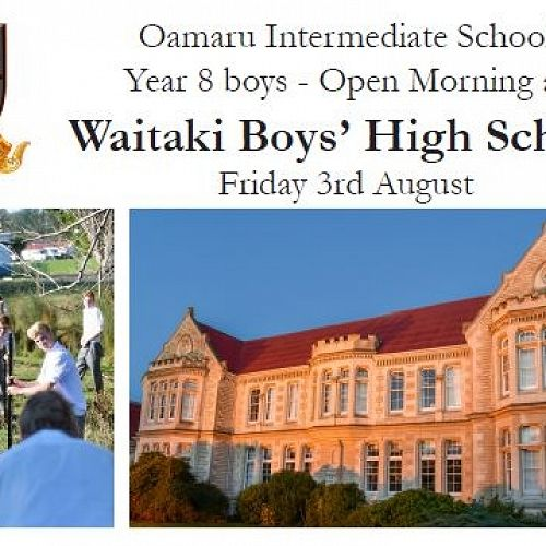 WBHS Open morning