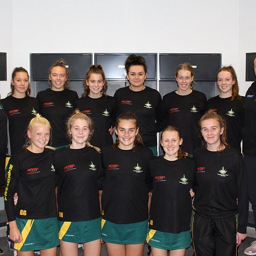 Senior A Netball at Curtain Raiser for the Tactix