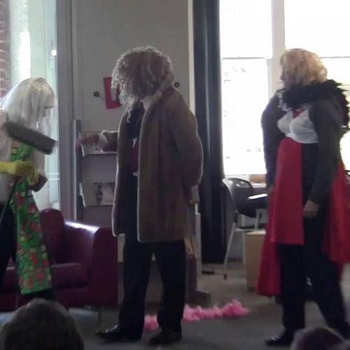 Library Week  - Cinderella Pantomime