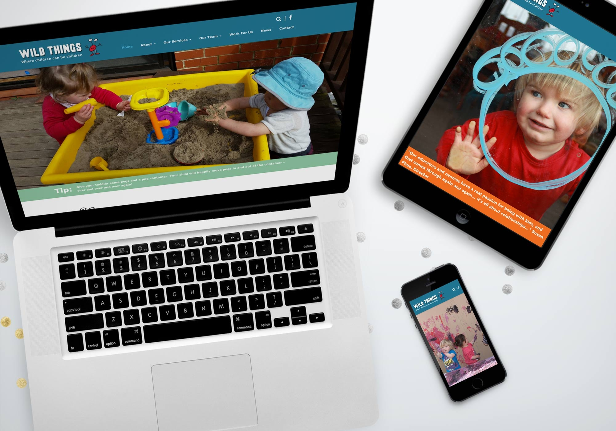 Wild Things Website Feature