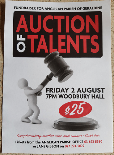 Auction of Talents