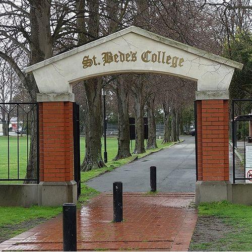 College gate