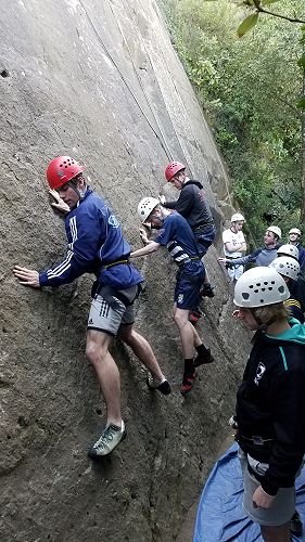 12/13 Outdoor Education - Rock Climbing