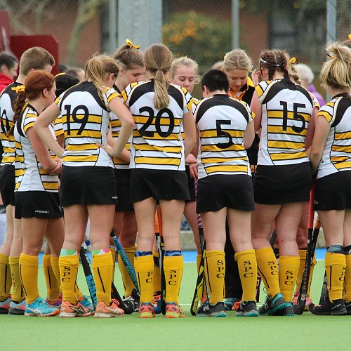 Girls first XI hockey team 2018