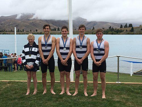 Silver - U16 Quad Sam Moore, Thomas Ryan, Jack Hol