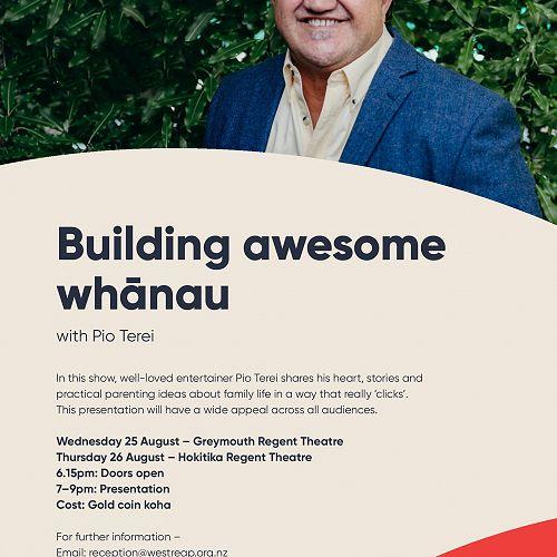 Building awesome whānau