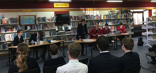 OBHS v WBHS Interschool - Debating