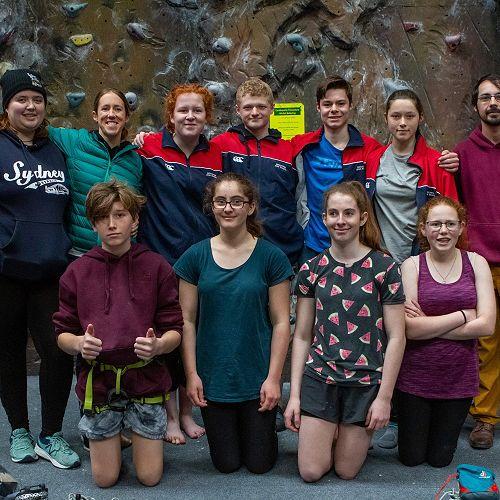 RHS Junior and Senior Climbers