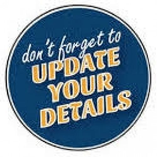 Update Your Details