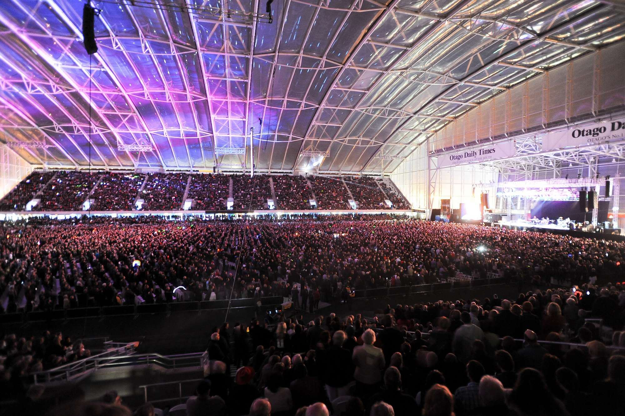 Elton John at Forsyth Barr Stadium, 2011