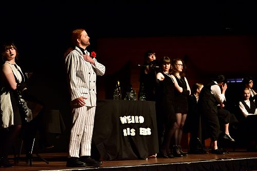 All the world's a stage for mobster Macbeth and his three flapper witches.