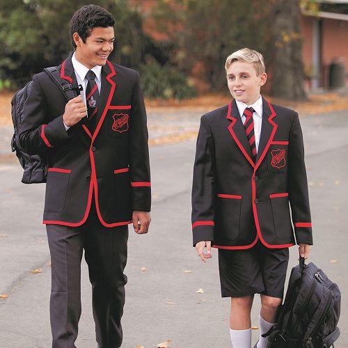 Students Entering St Bede's College