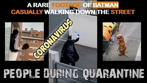 Video: Funniest Coronavirus Memes: Hilarious Things That People Do During Quarantine (Part 1)