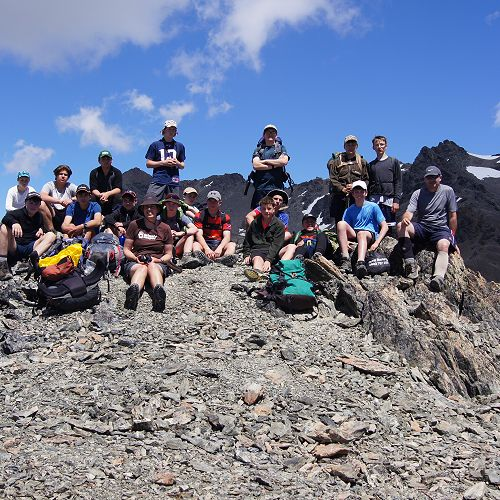 10NPA at the summit of Mt Mason