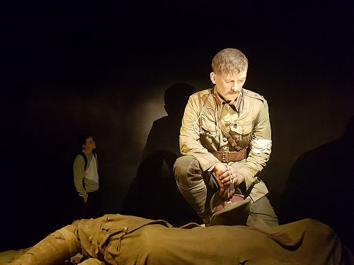 Callum Forgeson considers the story and the living image of Percival Fenwick, a medic at Gallipoli.