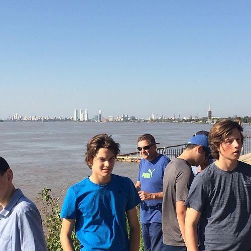 Rosario, Parana River