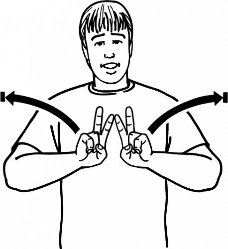 Peaceful - NZ Sign Language