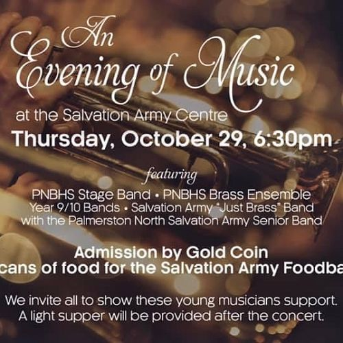 An Evening of Music - October 29, 6.30 pm