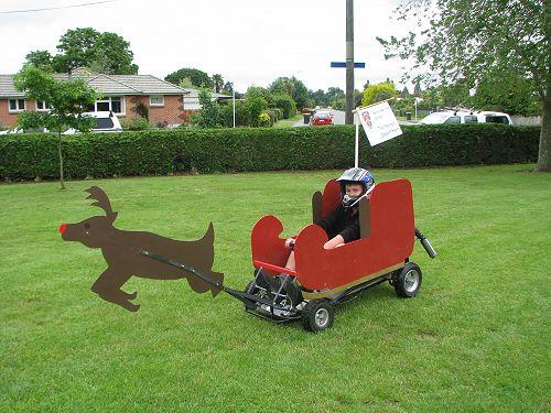 Technology Dept enter Geraldine Christmas Parade