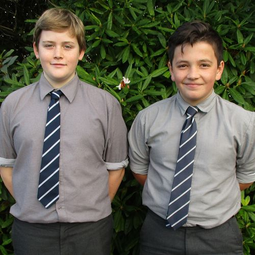 Sam Gavin and Nathaniel Williams