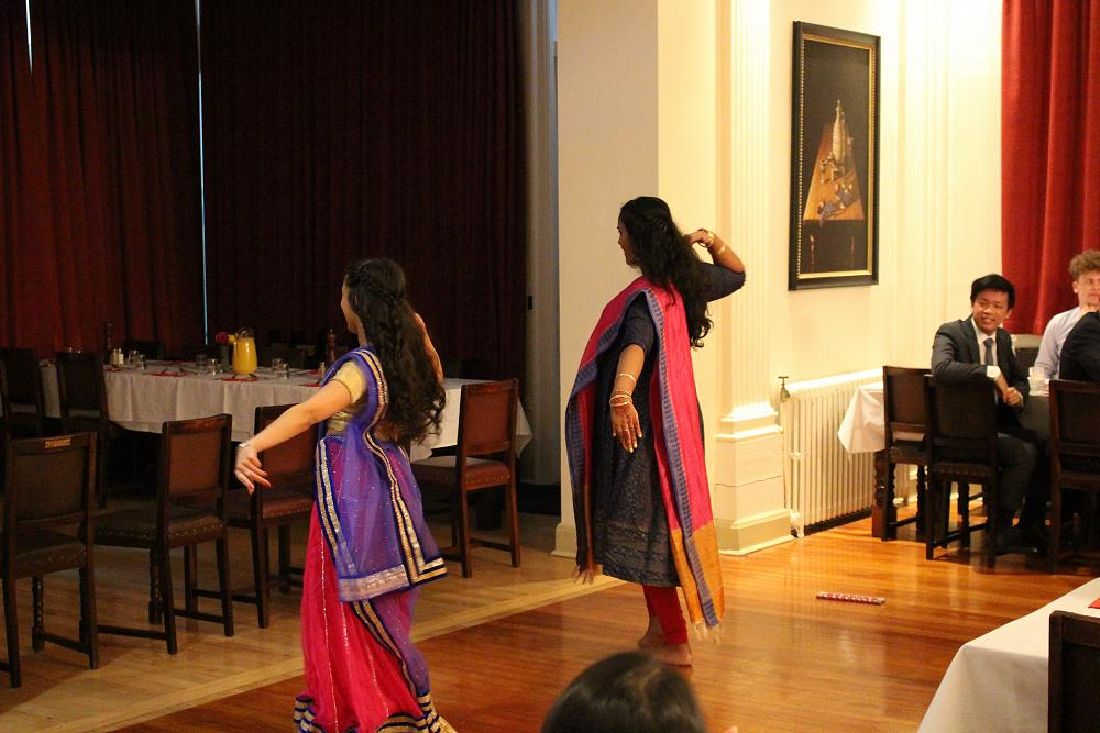 Priya Patel and Abida Denny perform entertaining d