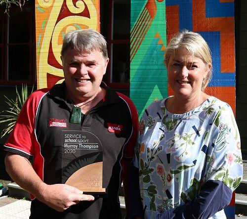 NZ Service to Sport Award