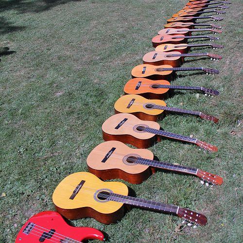 Music Camp guitars
