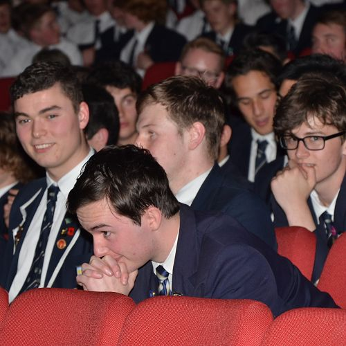 A nervous wait on who will be awarded the Dux this year.
