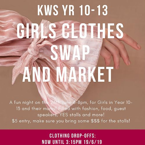 Girls Clothes Swap and Market