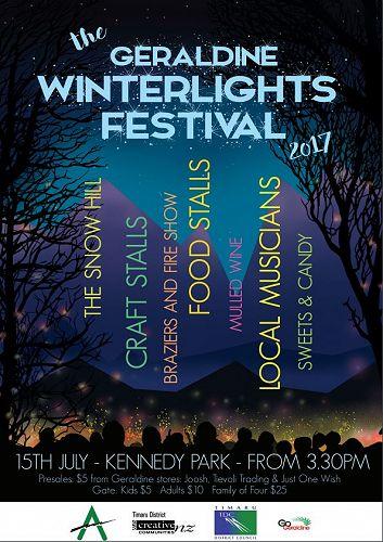 The Geraldine Winterlights Festival 2017