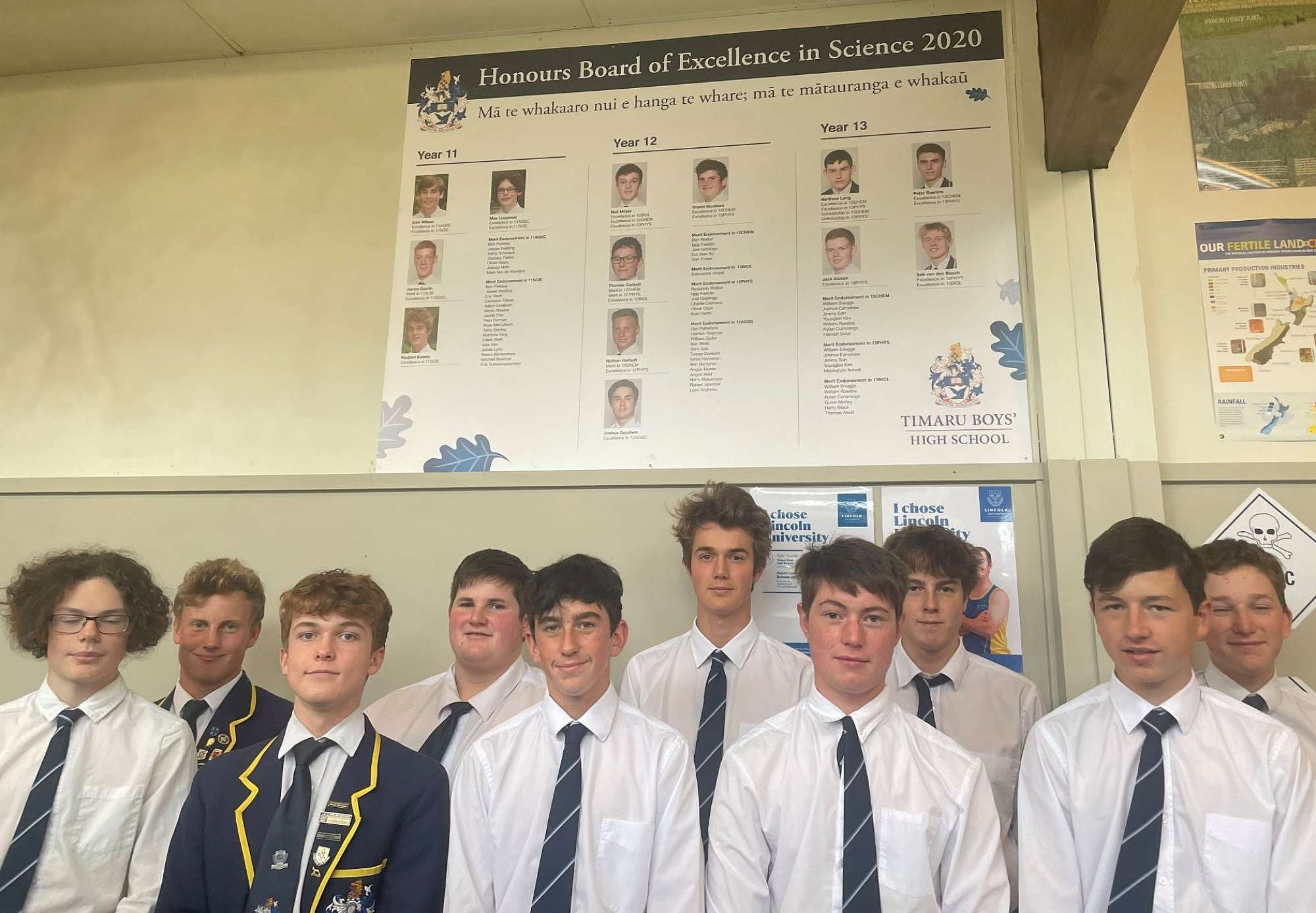 Science High Achievers