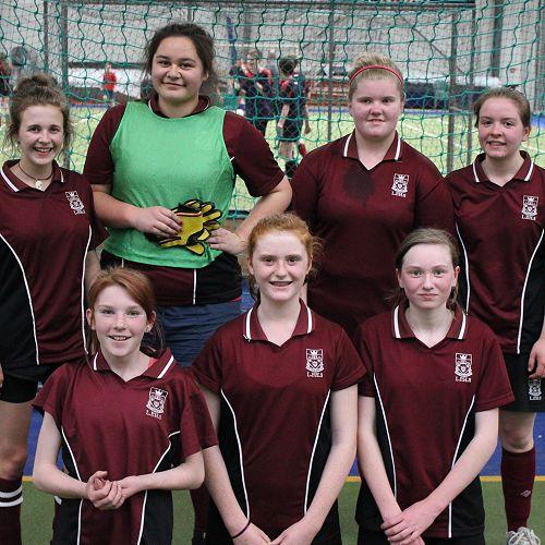 Junior Futsal Girls Div 2 Winners 2014