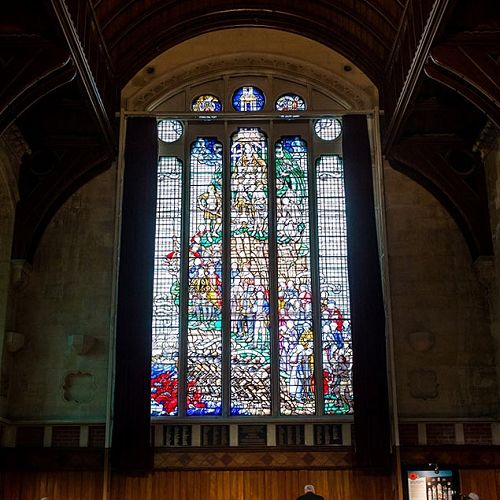 Great Hall Memorial Window, Arts Centre