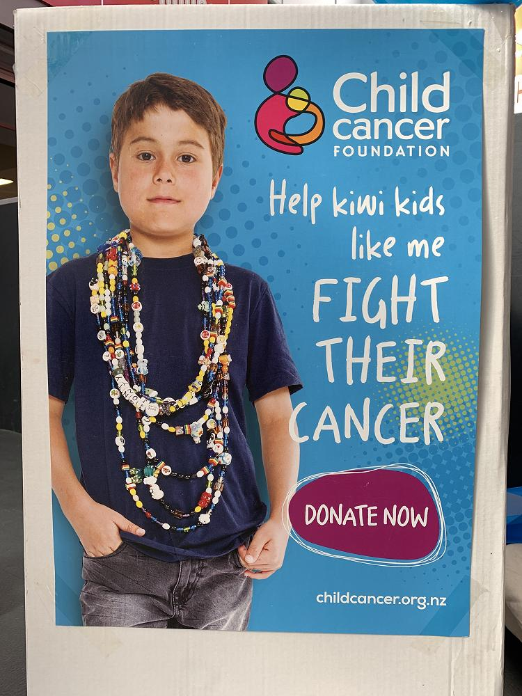 Child Cancer Street Colletion, 29/2/20