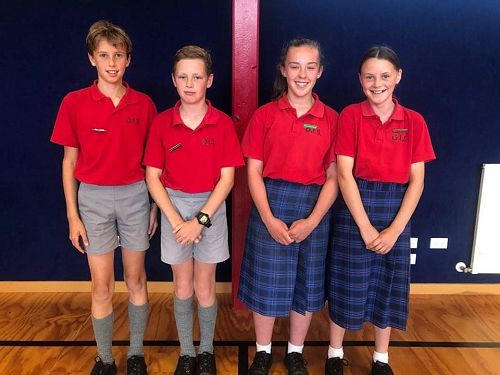 Ngaio House Captains 2020