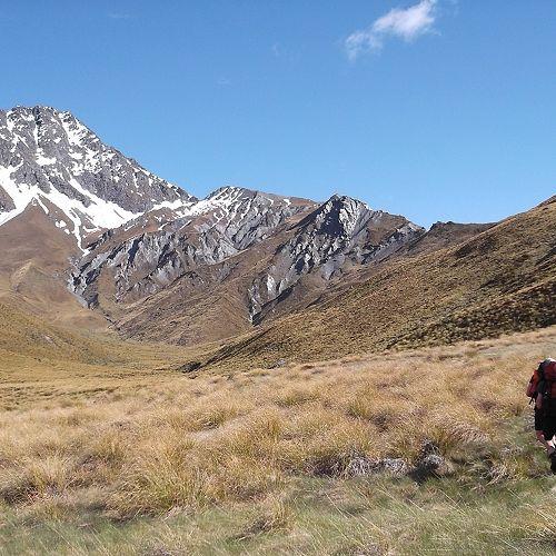 Towards Mt Aurum