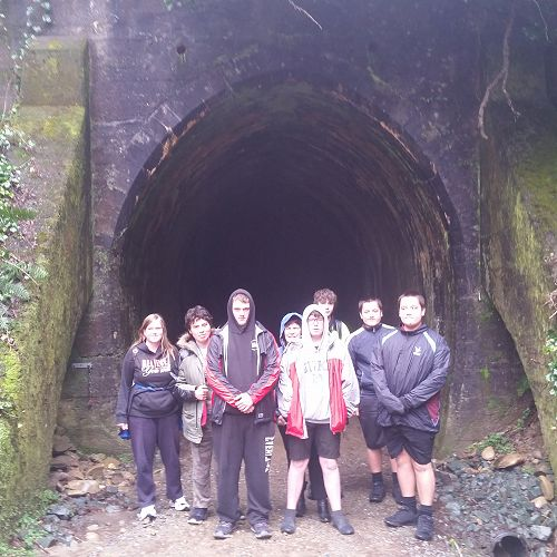 Learning Suppport Class at Spooners Tunnel