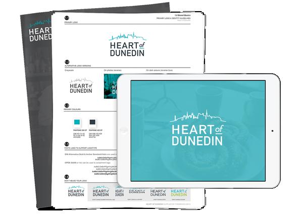 Heart of Dunedin brand development