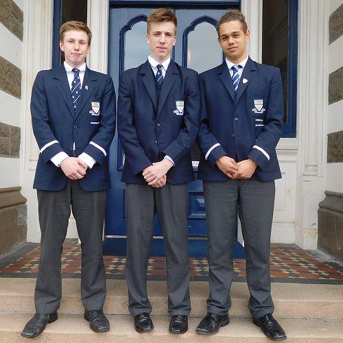 Ben Reeves, George Bright and Te Ngaru Wehi
