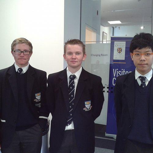 Nathan Hill, Nathan Briggs and Sean Woo