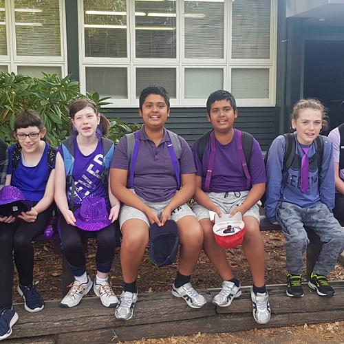 KKG Whanau Class: Elijah, Briana, Emma, Ozaer, Jubaer, Alex and Connor.