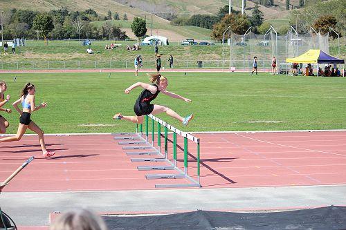 Emma at the SISS Athletics