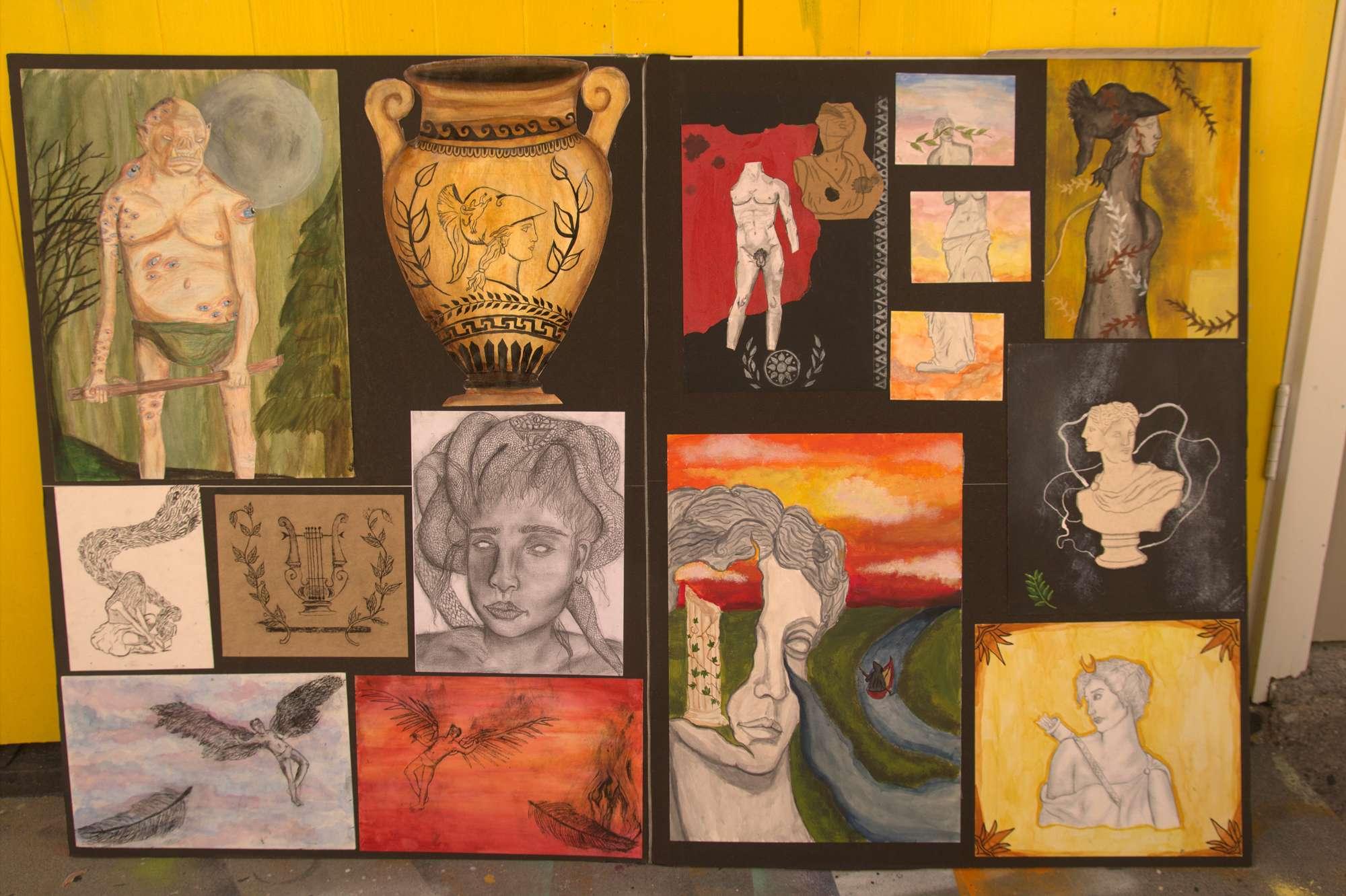 Jasmine Barry - NCEA Level 1 Art portfolio