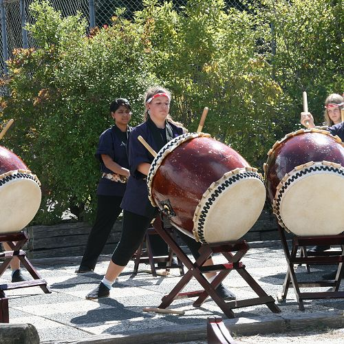O-Taiko Japanese Drumming