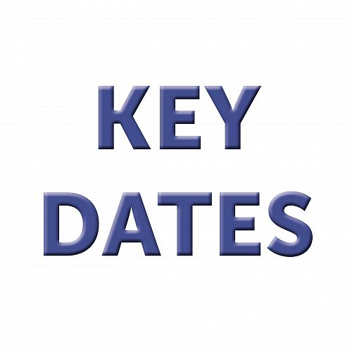 2020 CGHS Revised Key Dates