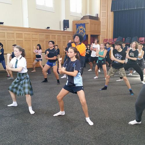 Royal New Zealand Ballet workshop 2018