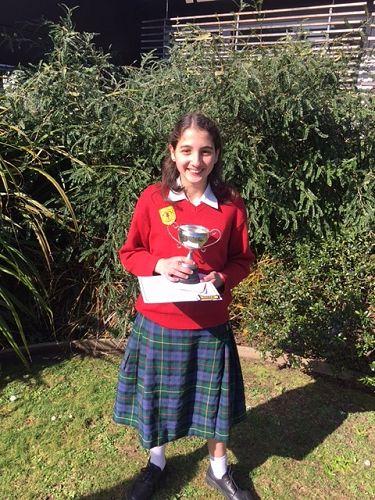 Yasmeen - Year 7 speech winner