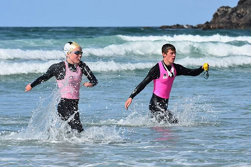 Interclub Senior Surf Life Saving competition